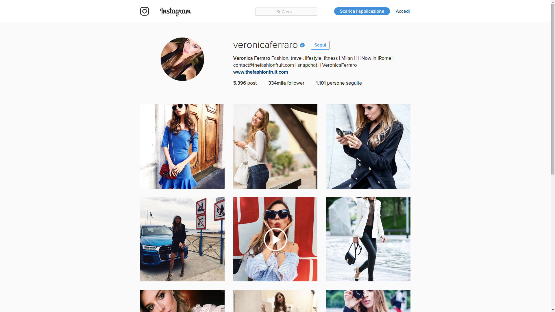 blogger instagram