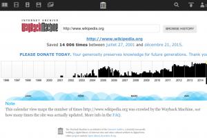Come usare web.archive.org per scoprire quanto è attendibile un sito web